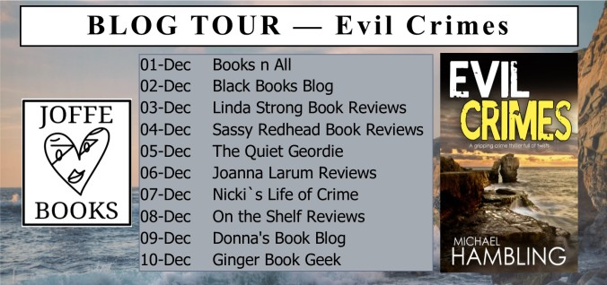 Blog Tour Banner - Evil Crimes