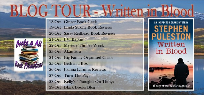 BLOG TOUR BANNER - Written in Blood