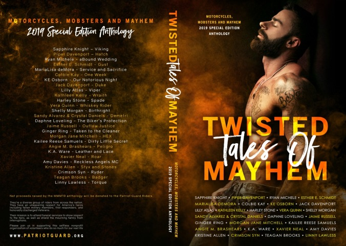 Twisted Tales of Mayhem Full Wrap