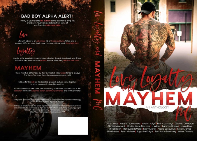 Love, Loyalty _ Mayhem Full Wrap