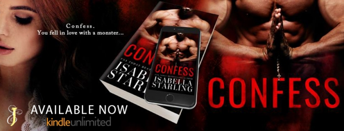 CONFESS release banner