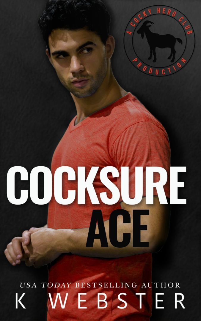 Cocksure Ace by K. Webster Ebook Cover