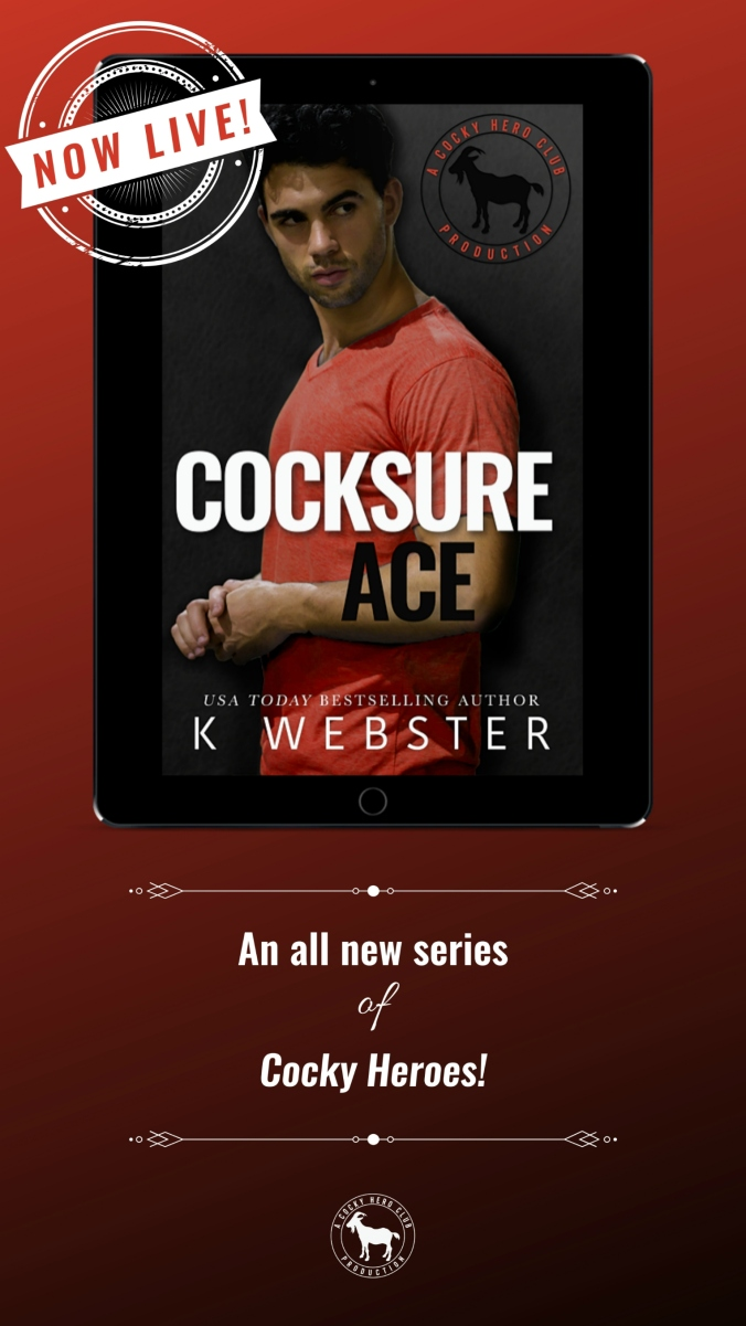 Cocksure Ace Instagram Story